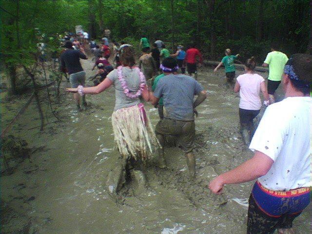 Warrior Dash Mud