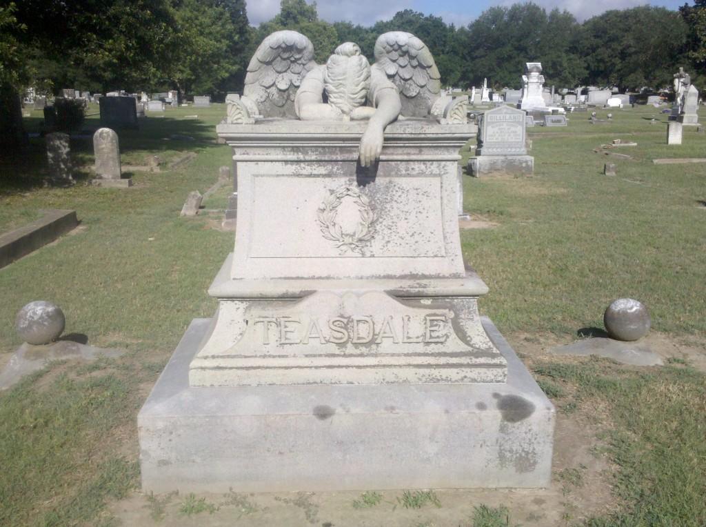 weeping angel in Columbus, MS