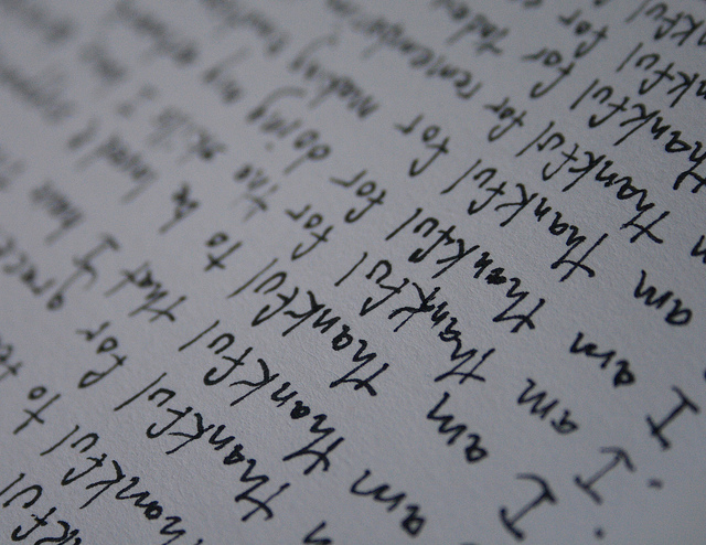 Gratitude Journal - image by http://www.flickr.com/photos/honorthegift/
