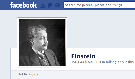 Einstein Facebook Profile Picture