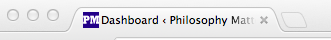 Philosophy Matters Favicon