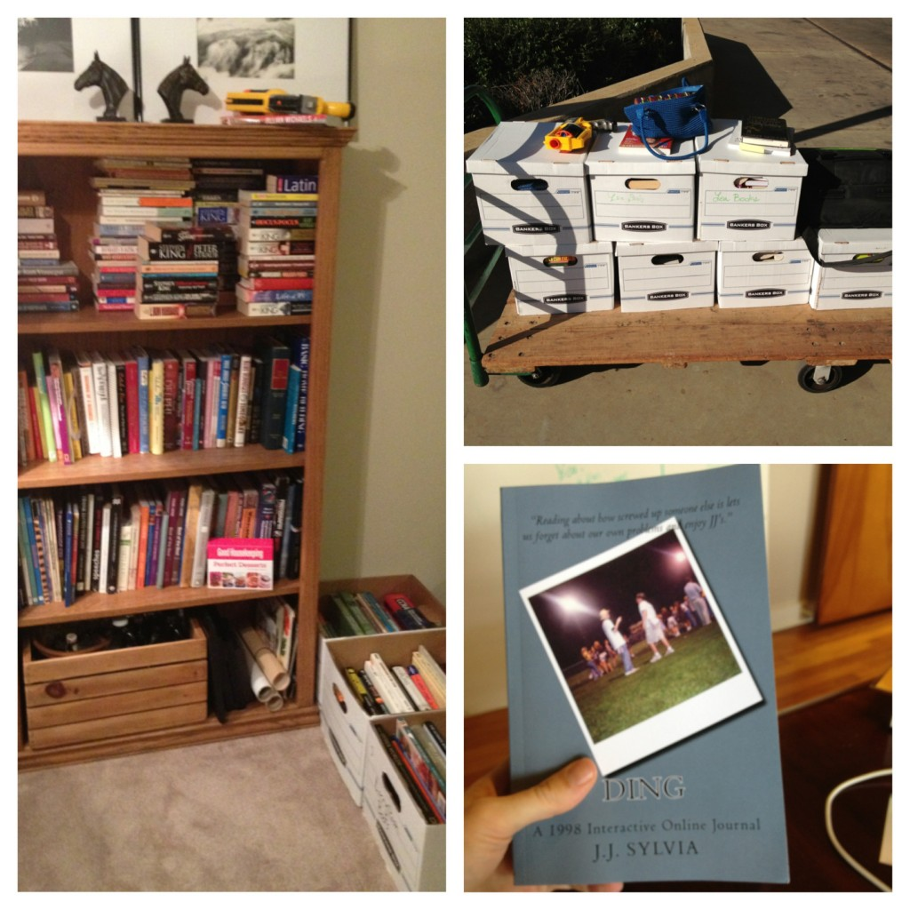 Getting rid of books