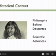 Check out the discussion below on Descartes' Meditations: