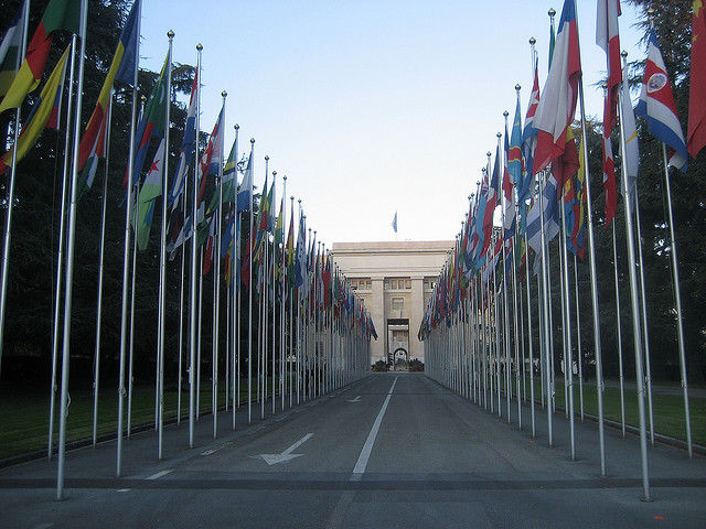 United Nations - image by https://secure.flickr.com/photos/calistan/