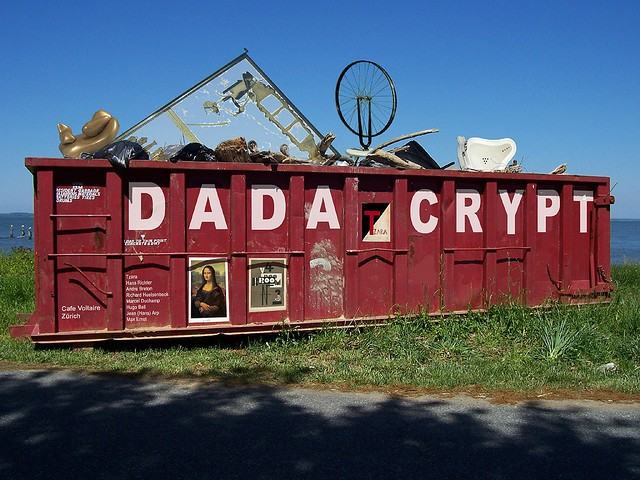 Dada Dumpster image by https://www.flickr.com/photos/zerne/